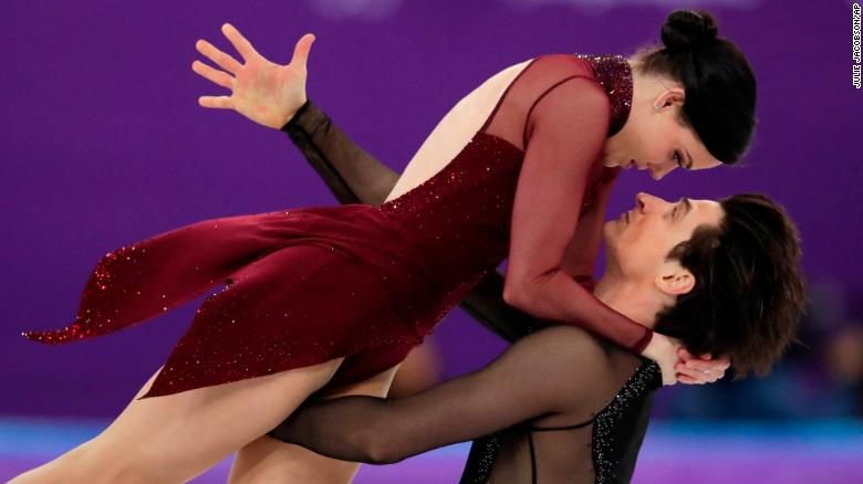 Tessa Virtue and Scott Moir's incredible gold