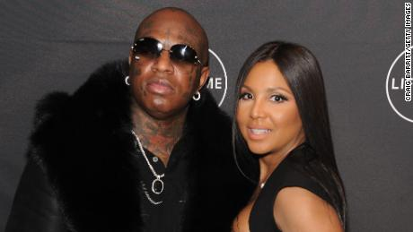 "NEW YORK, NY - JANUARY 23:  Birdman and Toni Braxton attends Lifetime""s Film,""Faith Under Fire: The Antoinette Tuff Story"" red carpet screening and premiere event at NeueHouse Madison Square In New York, NY on January 23, 2018. (Photo by Craig Barritt/Getty Images for Lifetime)"