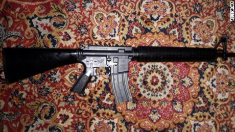 US assault rifles are being sold on the Telegram messaging app in Syria