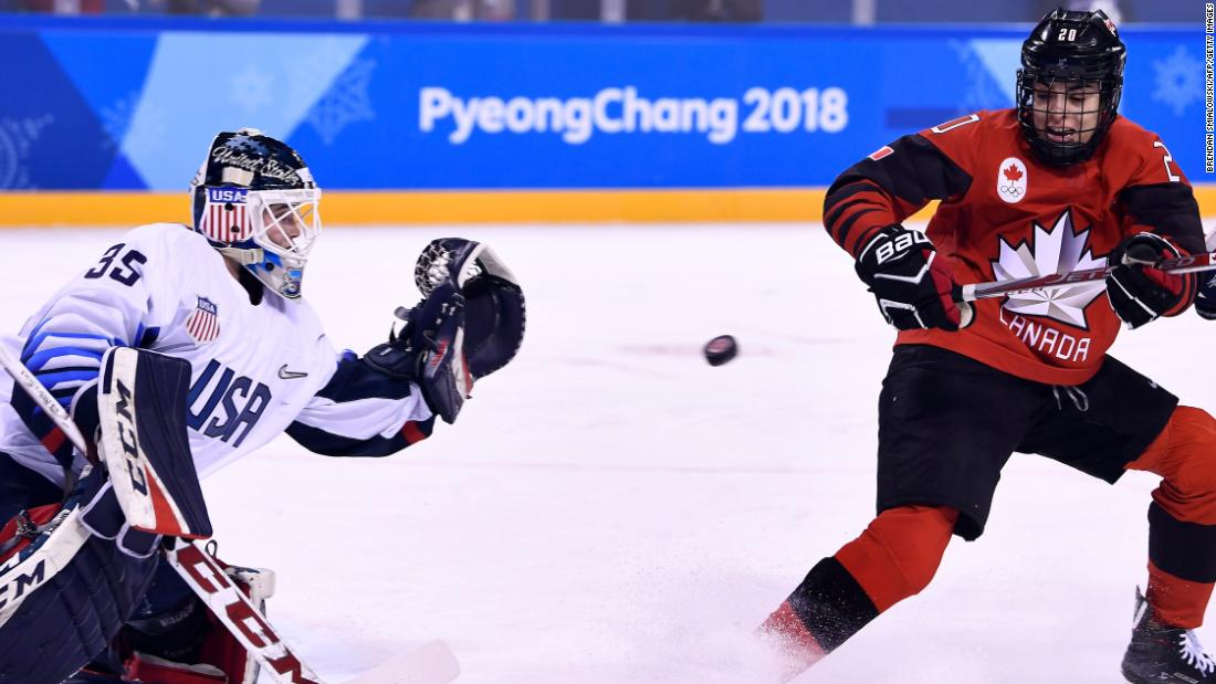On Wednesday night, (Thursday in the UK and South Korea), for the third straight Olympics, Canada and the United States will meet in the final of the women's hockey tournament. Canada has won both previous meetings, including a dramatic late comeback in 2014. The United States is looking for its first gold since 1998.