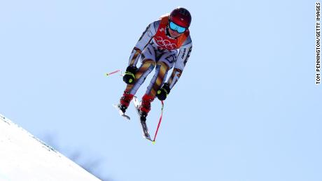 Ledecka was a shock winner of the super-G, beating ski stars such as Lindsey Vonn and Anna Veith.
