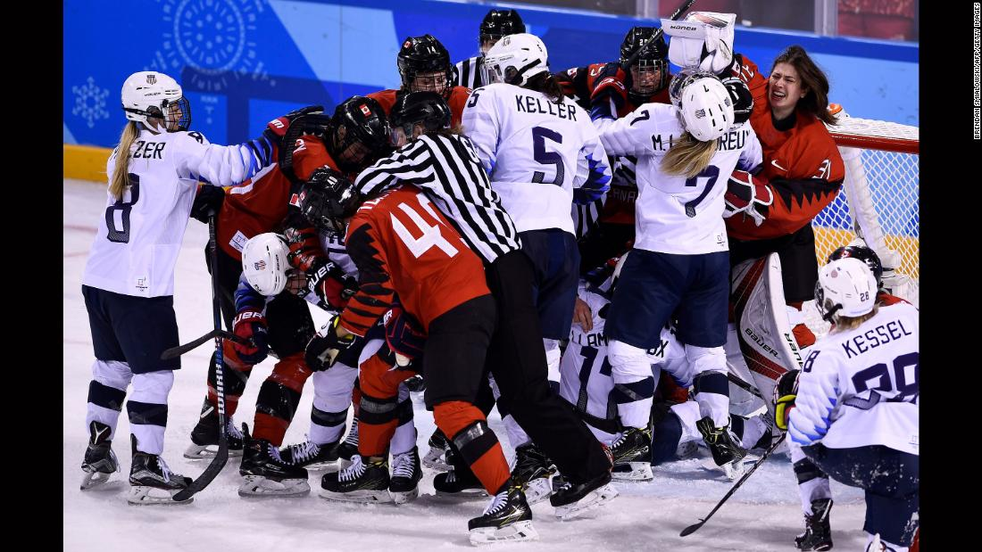 canada  us resume heated hockey rivalry