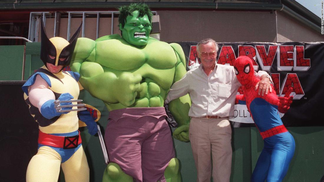 Stan Lee, Marvel Comics patriarch, dies at 95 - CNN