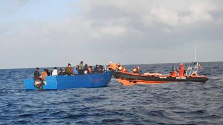 Rescued migrants tell of abuse in Libya