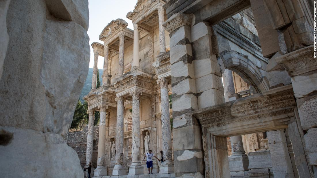 From the Romans to Byzantines to Ottomans and everyone in between, the Anatolian peninsula contains the legacies of a number of empires. The Library of Celsus in the ancient Greek city of Ephesus in modern day Izmir. Once a key locale for Greece on Asia Minor, the city in western Turkey has origins dating back to the 7th century BC.