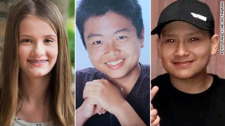 Marjory Stoneman Douglas High School shooting victims Alaina Petty, Peter Wang and Martin Duque