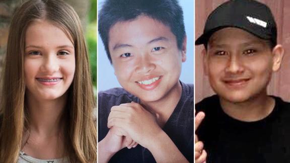 Marjory Stoneman Douglas High School shooting victims Alaina Petty, Peter Wang and Martin Duque
