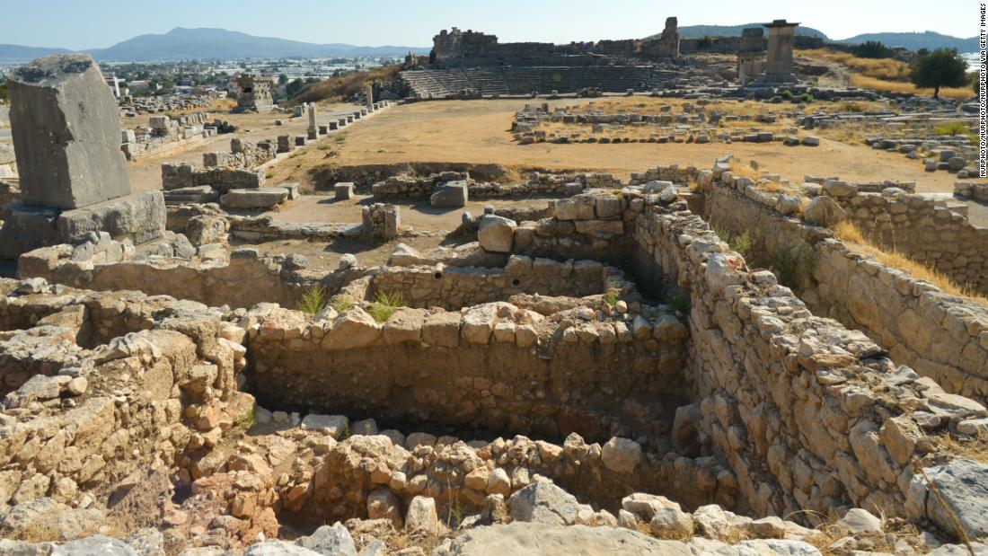 "Xanthos was the principal city of Lycia, in southwest Turkey. Mentioned in Homer's ""Iliad,"" set during the Trojan Wars, the city was later attacked in the 6th century BC by Persian king Cyrus II."