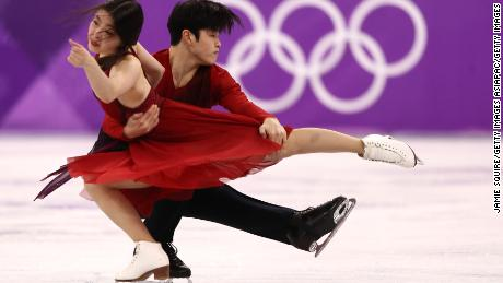 Maia Shibutani and Alex Shibutani of the United States won bronze in the Ice Dance.