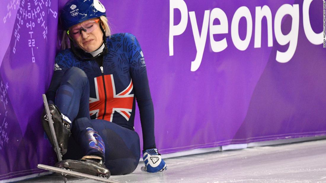 The tragic story of skater Elise Christie gripped the Brits. She was disqualified from the 1,000m heats following heavy crashes in both the 500m final and the semifinal of the 1,500m. History seems to repeat itself -- Christie was also disqualified from all three events at Sochi 2014.