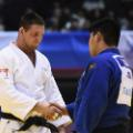lukas krpalek shakes hands with yusei ogawa czech republic