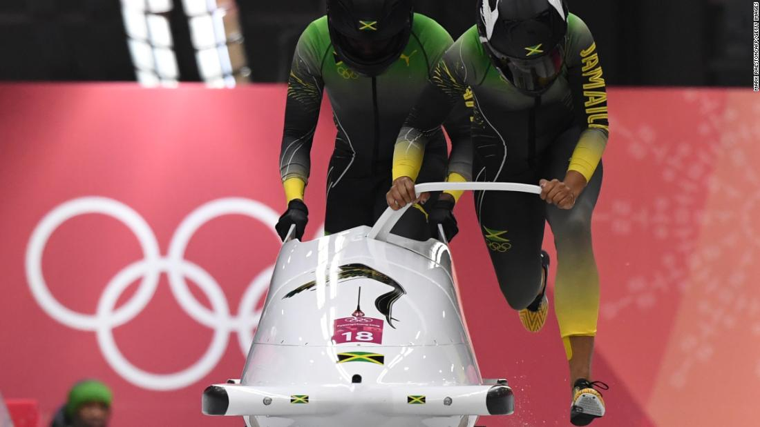 "The Jamaican women bobsled team made their Olympic debut at PyeongChang, 30 years after the men's team captured hearts around the world, inspiring the movie, ""Cool Runnings."""