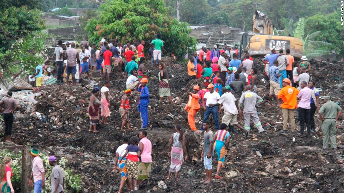 Mozambique garbage collapse kills 'poorest of the poor'