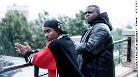 Marcc Rose, Wavyy Jonez in 'Unsolved: The Murders of Tupac and The Notorious B.I.G.'