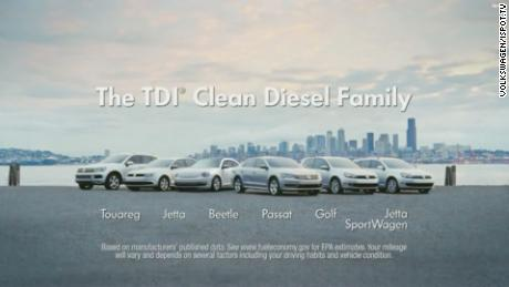 "Several VW models marketed as ""clean diesel"" were later implicated in the fraud."