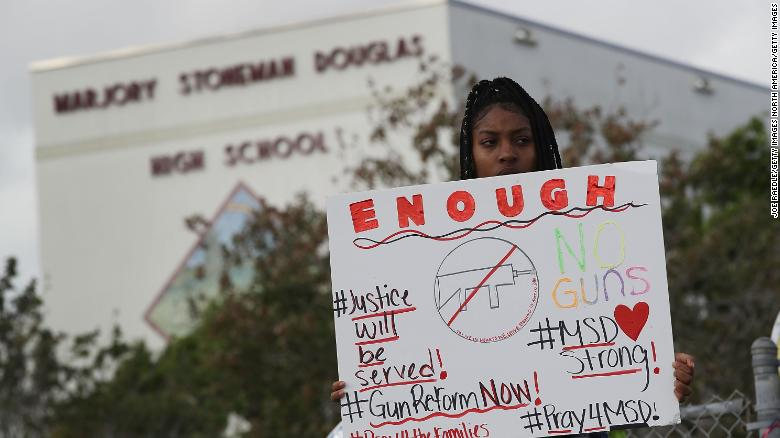 School shooting survivors demand change