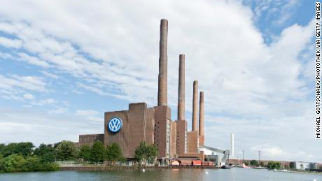 The VW factory in Wolfsburg is one of the largest manufacturing plants in the world.