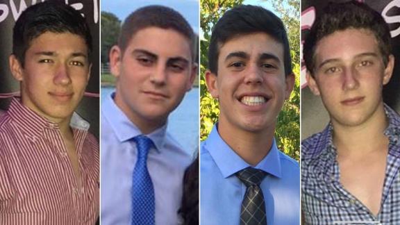 Ethan Rocha, Jonathan Blank, Noah Kaufman, and Sam Resnick