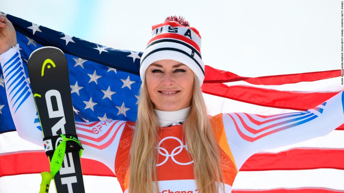 Lindsey Vonn's long goodbye begins