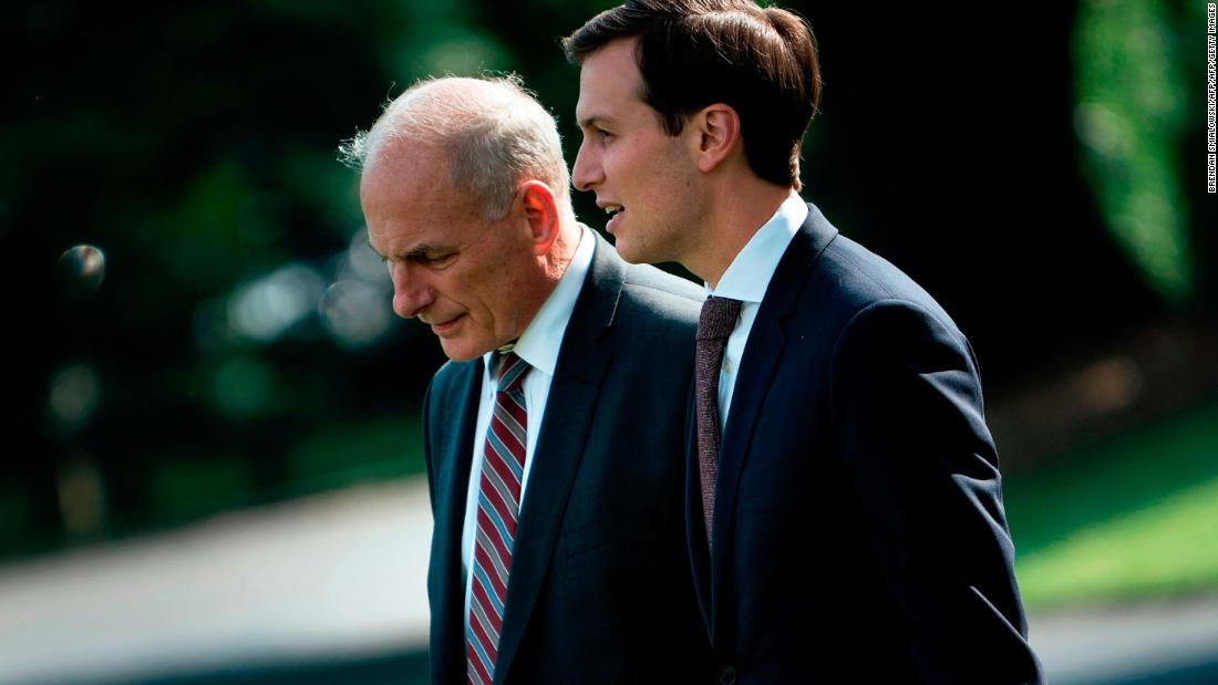 Trump: Kelly to decide Kushner security clearance