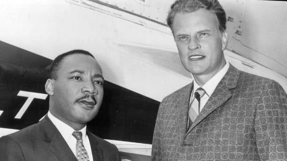 Graham preached that racial segregation was unbiblical, but some civil rights rights leaders criticized him for not being more involved in the civil rights movement. Graham asked the Rev. Martin Luther King Jr. to deliver a prayer at a Madison Square Garden crusade in New York in 1957.