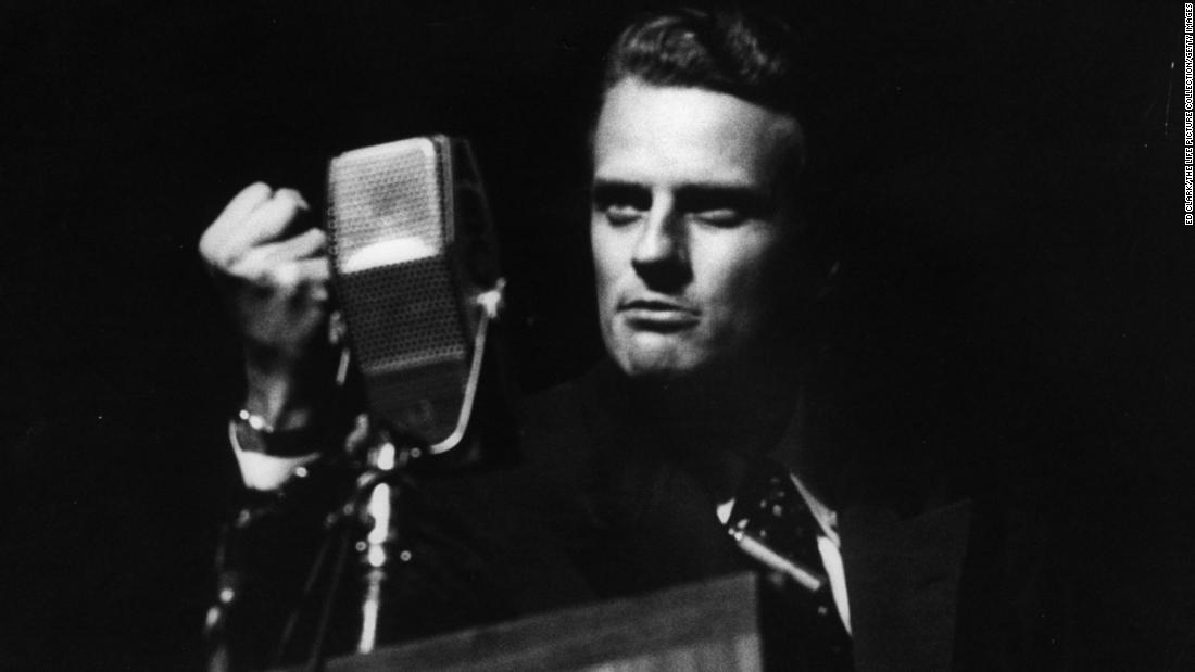"In the 1950s, Graham began a weekly Sunday night radio program, ""The Hour of Decision."""