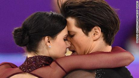 Virtue and Moir have been skating together for 20 years.