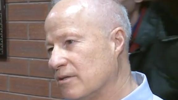 Colorado Rep. Mike Coffman at Tuesday's charged town hall.