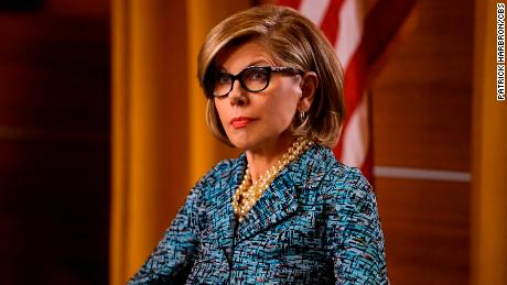 Christine Baranski as Diane Lockhart.