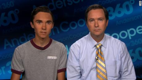 david hogg and dad ac360