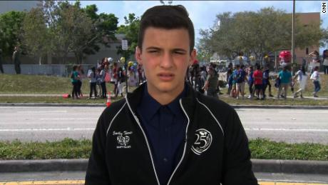 Student's warning to Gov. Scott at the polls