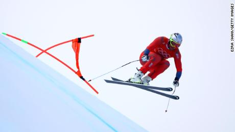 Svindal racing at PyeonChang