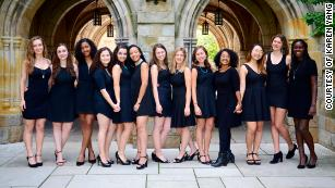 A woman is joining this Yale a cappella group for the first