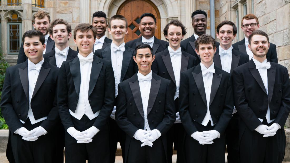 A woman is joining this Yale a cappella group for the first time in