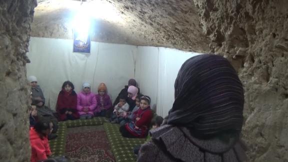 Eastern Ghouta residents forced underground Sam Kiley pkg_00004725.jpg
