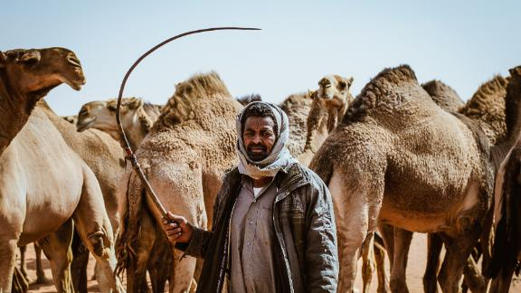 """Long standing tradition: """"We need people outside Saudi Arabia to see how we live, to see what the camel means for us,"""" says Sultan Al-Bogomi, an official spokesperson of the King Abdulaziz Camel Festival."""