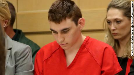FT. LAUDERDALE - FEBRUARY 19: Nikolas Cruz appears in court for a status hearing before Broward Circuit Judge Elizabeth Scherer on February 19, 2018 in Ft. Lauderdale, Florida. Cruz is facing 17 charges of premeditated murder in the mass shooting at Marjory Stoneman Douglas High School in Parkland, Florida.  (Photo by Mike Stocker-Pool/Getty Images)
