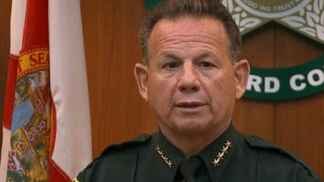 Broward sheriff says he won't resign in face of criticism over Parkland response