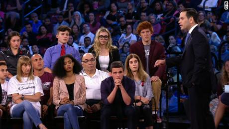 CNN hosts town hall on gun policy in America