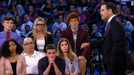 A Clean The Students of Stoneman Douglas Demand Action town hall with CNN host Jake Tapper