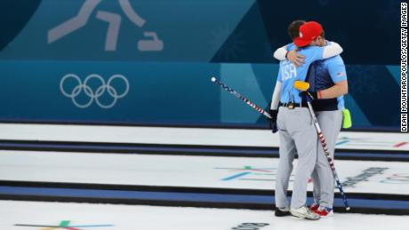 Team Shuster will face Sweden in the final on Saturday.