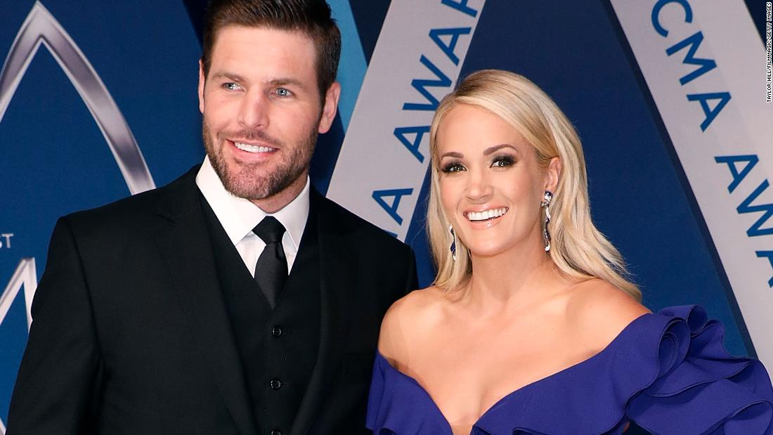 Image result for carrie underwood and husband