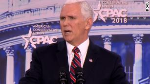 Pence addresses gun debate by touting school safety at CPAC