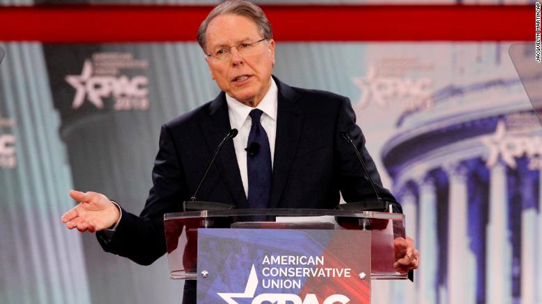 NRA's Wayne LaPierre warns of Democrats pushing socialism in speech that goes beyond gun debate