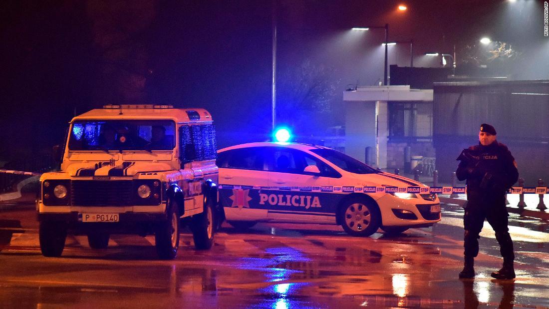 Man dies after throwing grenade at US Embassy