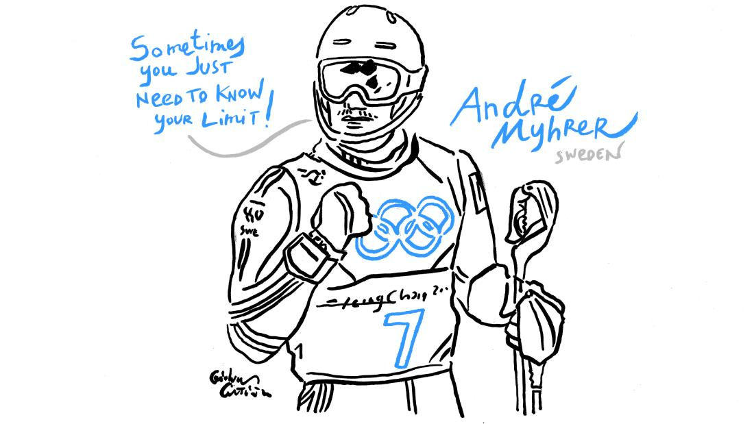 Sweden's Andre Myhrer wins combined gold.