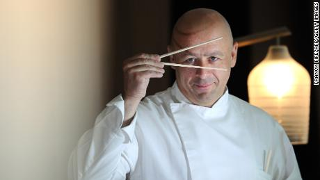Thierry Marx has a passion for both Japanese sport and cuisine