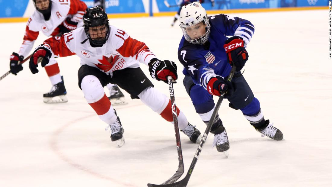 Women's Ice Hockey: US beat Canada to take Gold for first time ...