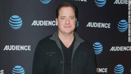 Brendan Fraser attends the AT&T AUDIENCE Network 2018 Winter TCA on January 11, 2018 in Pasadena, California.