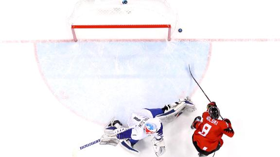 Wojtek Wolski turned heads, playing on Canada